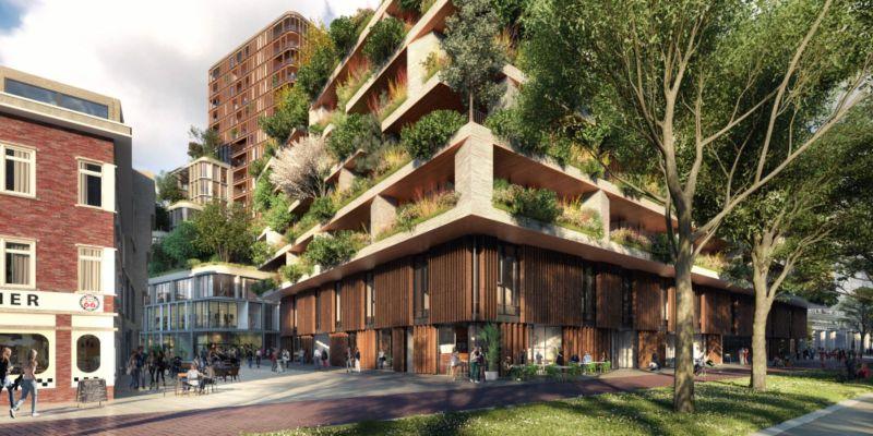 In Utrecht the first dutch Vertical Forest
