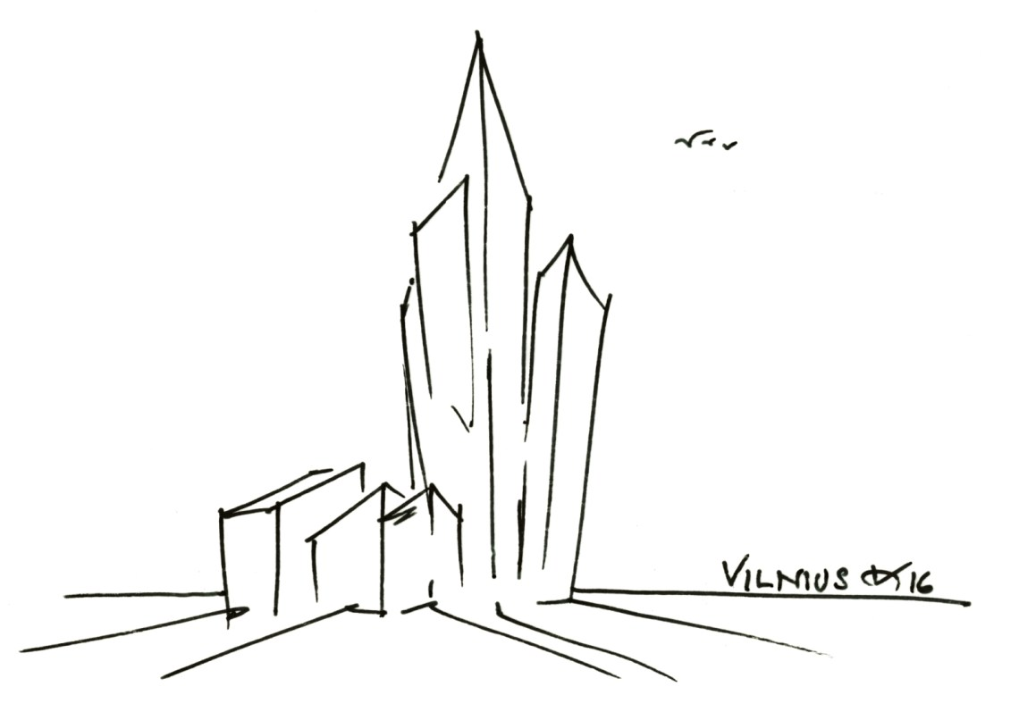 Business Complex in Vilnius