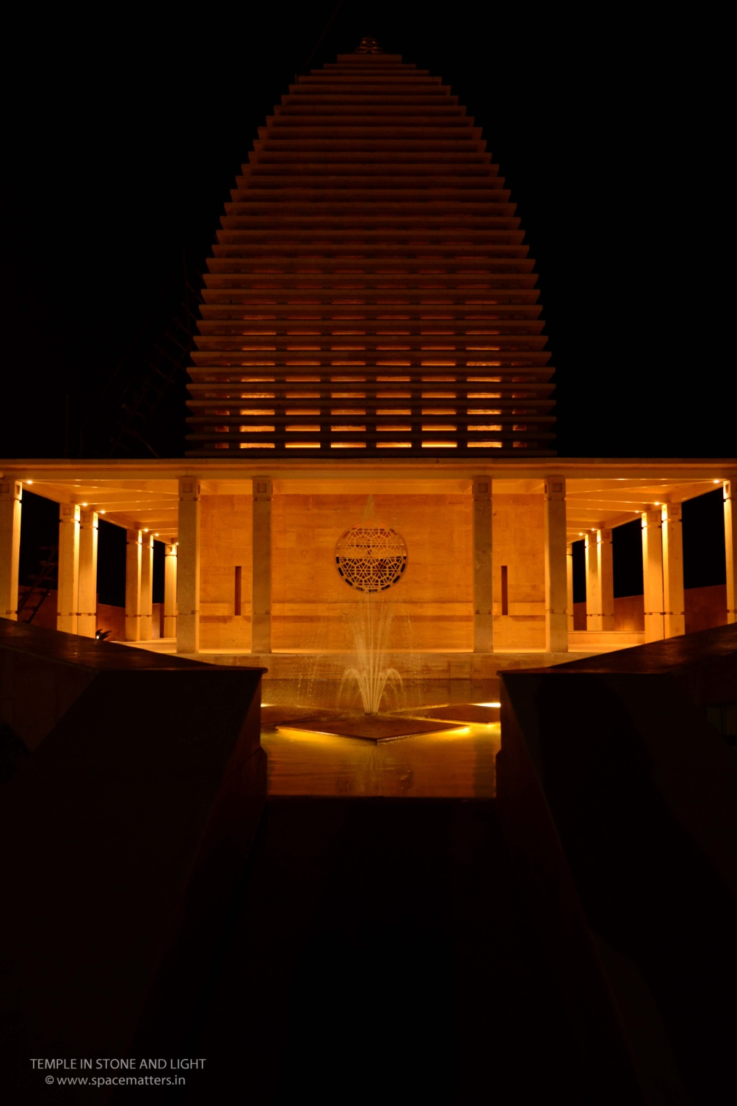Temple in Stone and Light