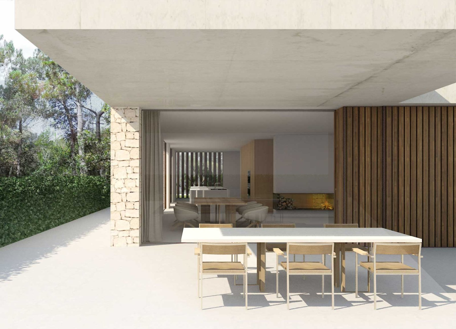 The house in La Cañada