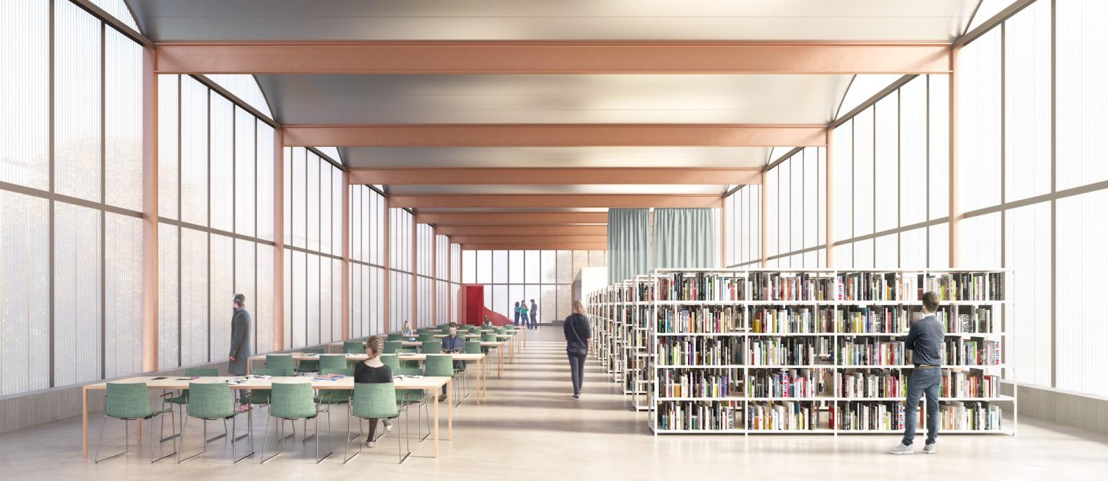 Urtzi Grau Wins International Design Competition New Library