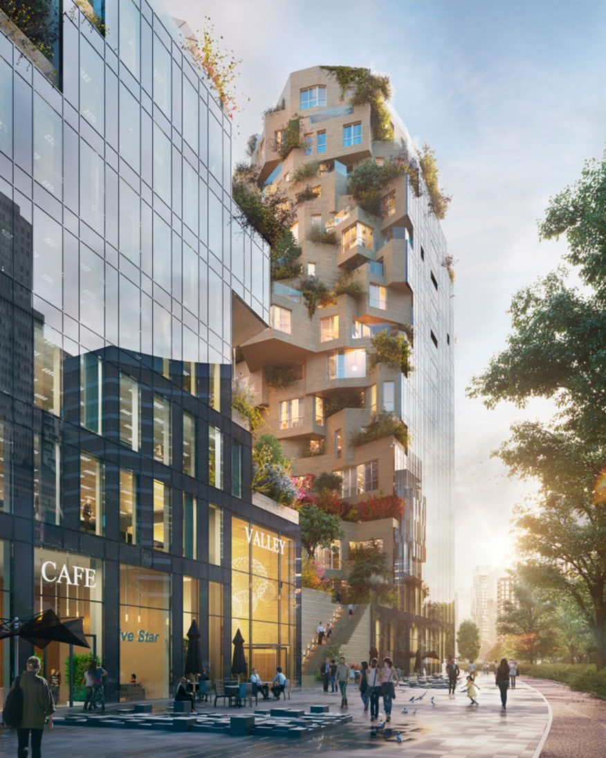 Valley breaks ground by MVRDV competition-winning building for OVG Real Estate   A As Architecture