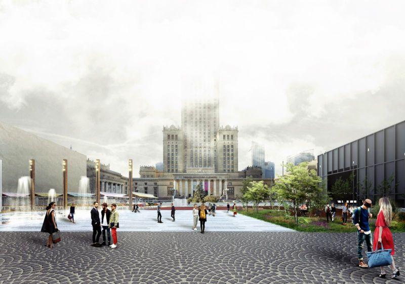 Warsaw Central Square