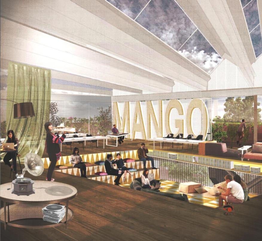 Mango Vinyl Hub