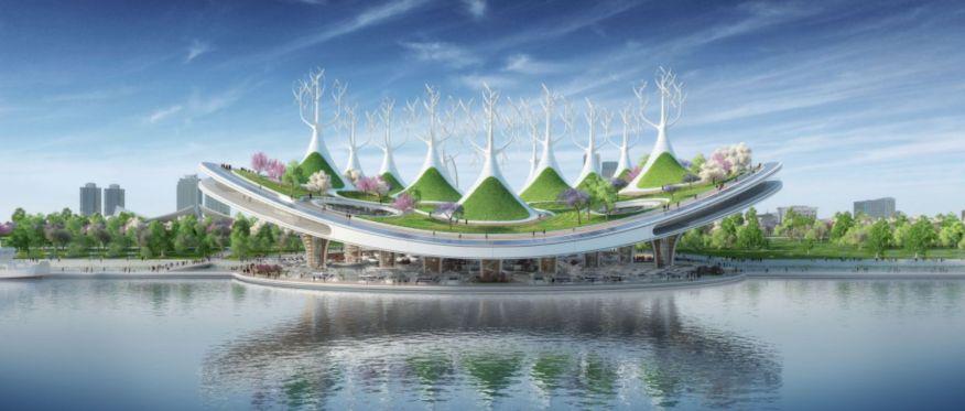 Yeouido Han River Park & Yeoui-Naru Floating Ferry Terminal