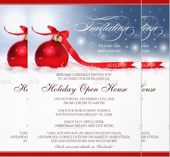 Open House Invitations Templates Free Download