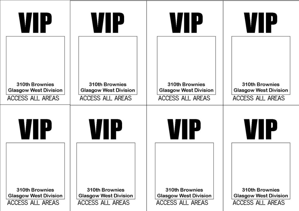 Vip Pass Template - FREE DOWNLOAD