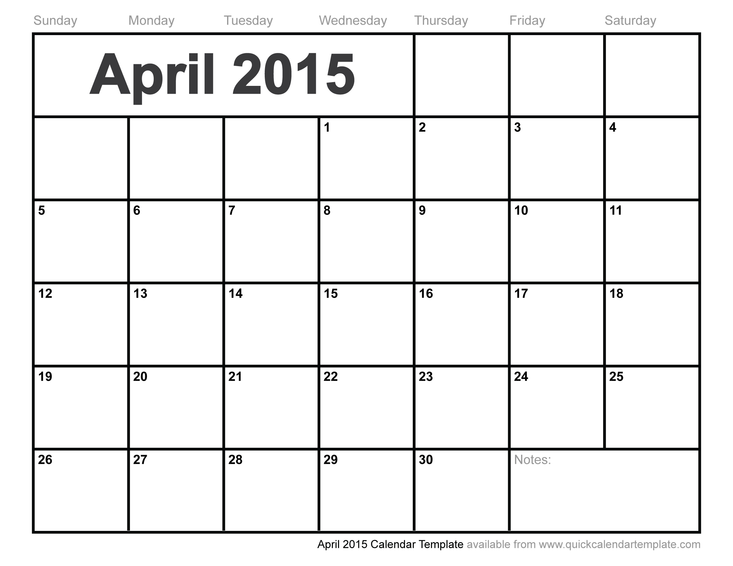 2015 calendar free download