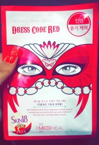 Mediheal Mask Dress Code Red (Anti-Aging)