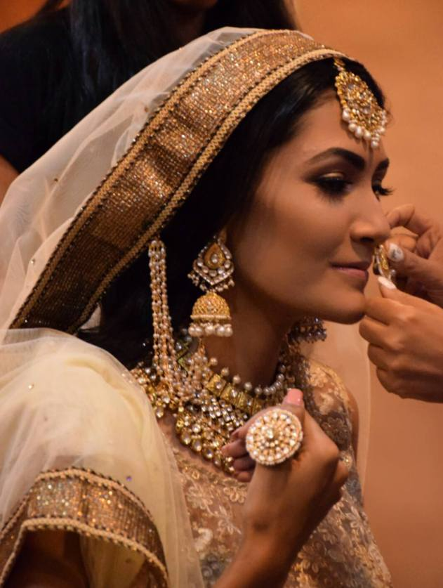 Bajirao Mastani Inspired Make-up & Look