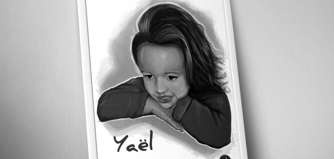 illustration-enfant-yael-portrait
