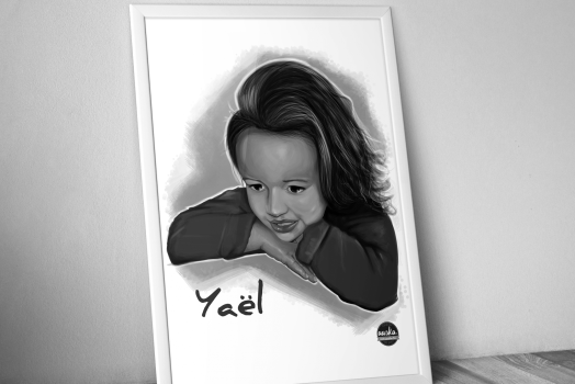 illustration-enfant-yael-portrait