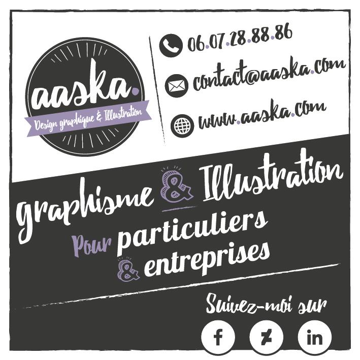 Nouvelle carte de visite pour Aaska