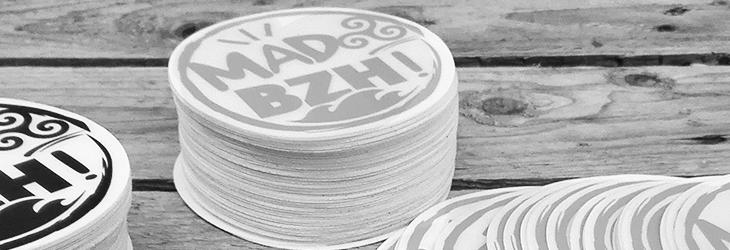 stickers mad bzh aaska