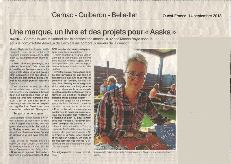 ouest france aaska mad bzh