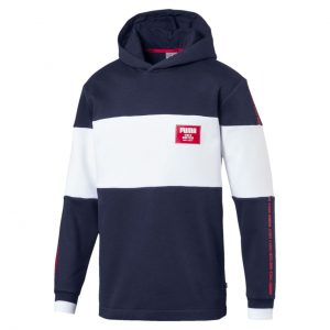 BLUZA ORIGINALA PUMA REBEL BLOCK HOODY FL - 852400 06