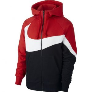 BLUZA ORIGINALA NIKE FULL-ZIP FRENCH TERRY HOODIE - AR3084 657