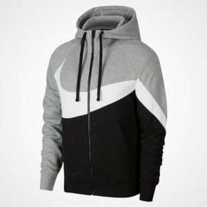 BLUZA ORIGINALA NIKE FULL-ZIP FRENCH TERRY HOODIE - AR3084 063