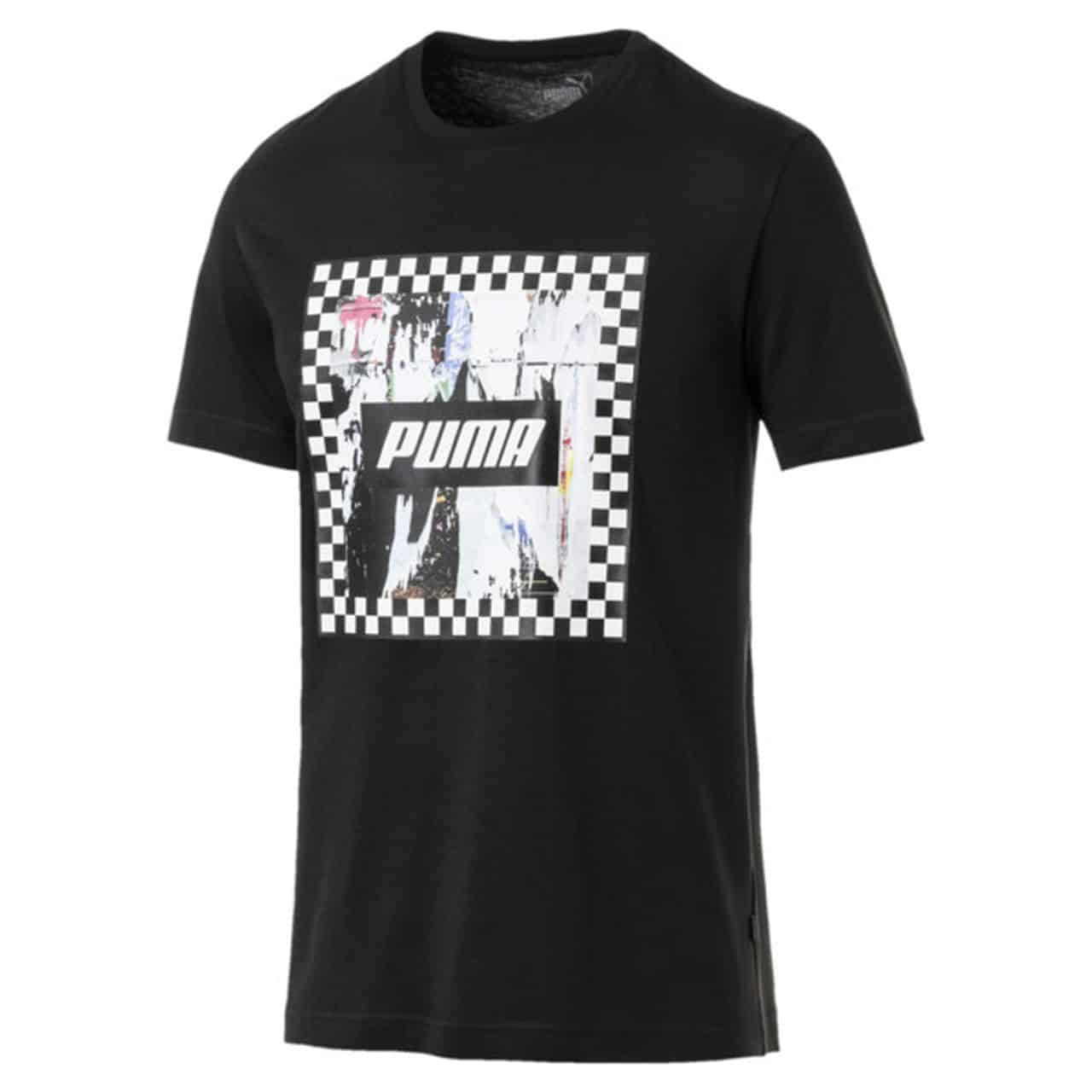 TRICOU ORIGINAL PUMA CHECK GRAPHIC TEE - 854073 01