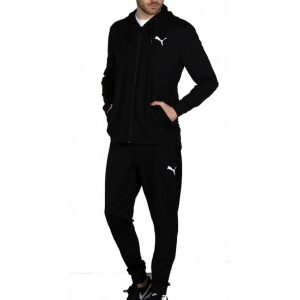 TRENING ORIGINAL PUMA M HOODED SWEAT SUIT STRETCH - 845004 01