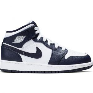 ADIDASI ORIGINALI NIKE AIR JORDAN 1 MID (GS) - 554725 174