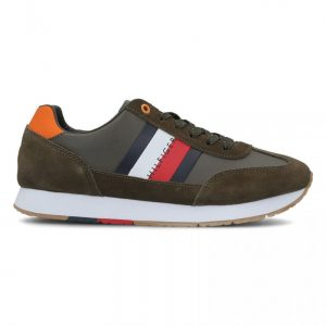 ADIDASI ORIGINALI TOMMY HILFIGER CORPORATE LEATHER FLAG - FM0FM02380 010