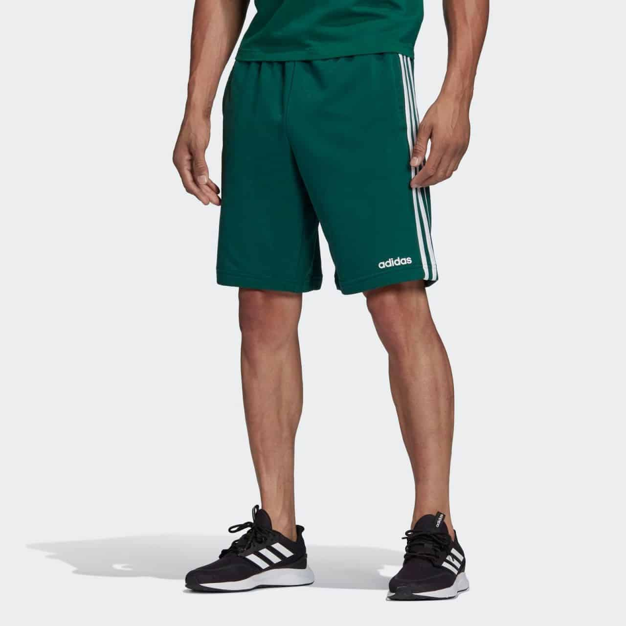 PANTALONI SCURTI ORIGINALI ADIDAS E 3S SHORT FT - FM6057