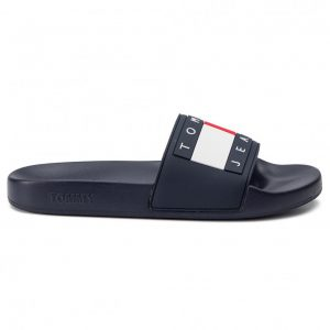 SLAPI ORIGINALI TOMMY HILFIGER FLAG POOL - EM0EM00284 403