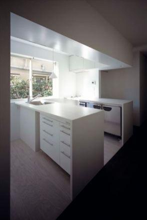光あふれるキッチン