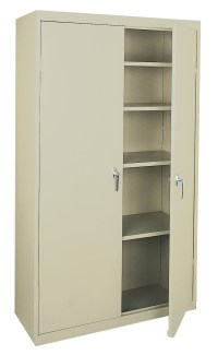 New Storage Cabinets, Adjustable Shelves, Fixed Shelves