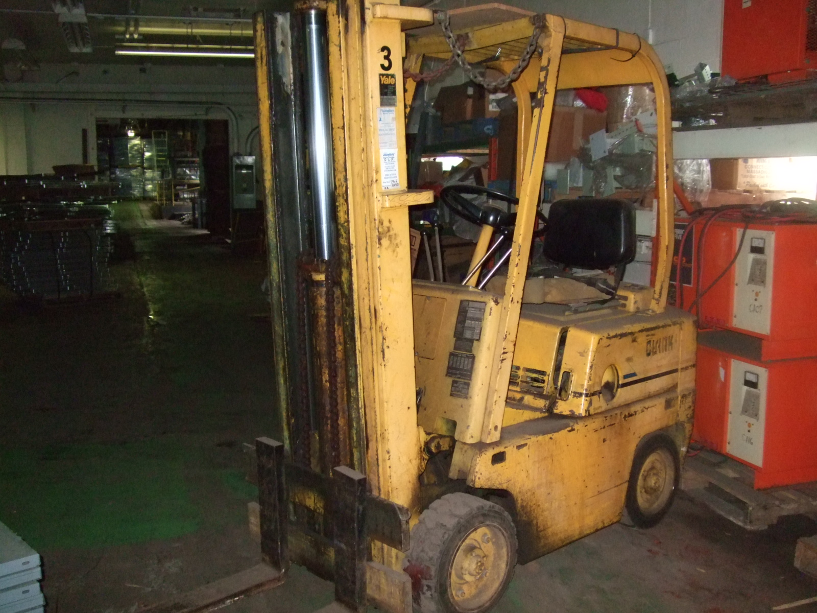 New  Used Forklifts Orderpickers Lifts Clark Forklift