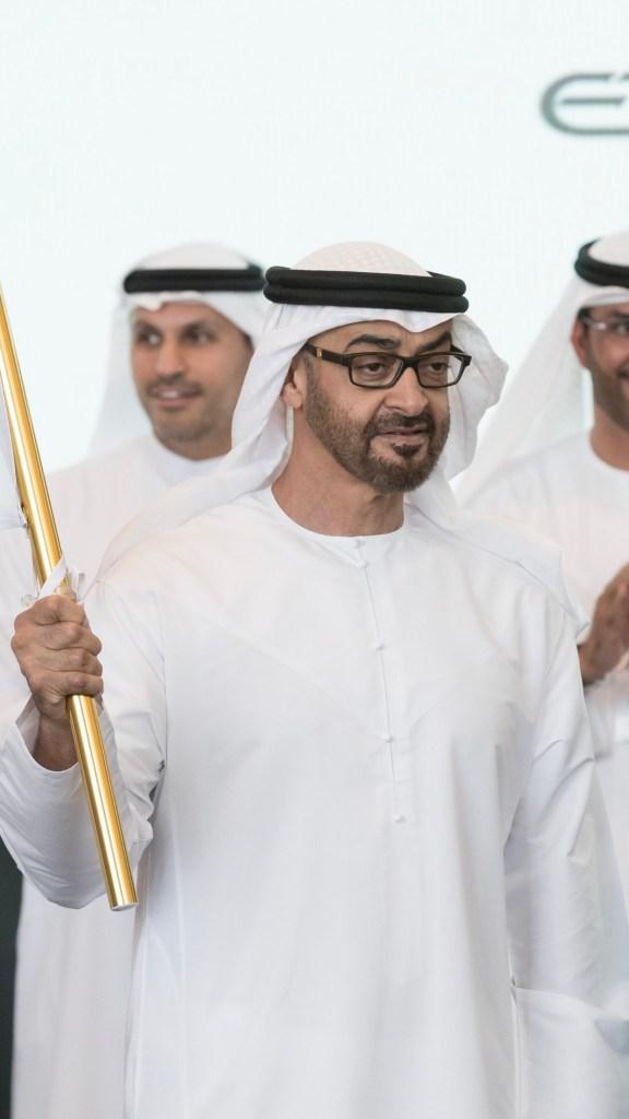 #محمد_بن_زايد يلتقي 32 رياضياً من أصحاب الهمم ممن مثلوا #الإمارات في الألعاب العالمية للأولمبياد الخاص في النمسا هذا العام