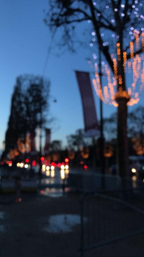 اليوم الثاني في فرنسا - شوارع باريس ٩-١٢-٢٠١٧