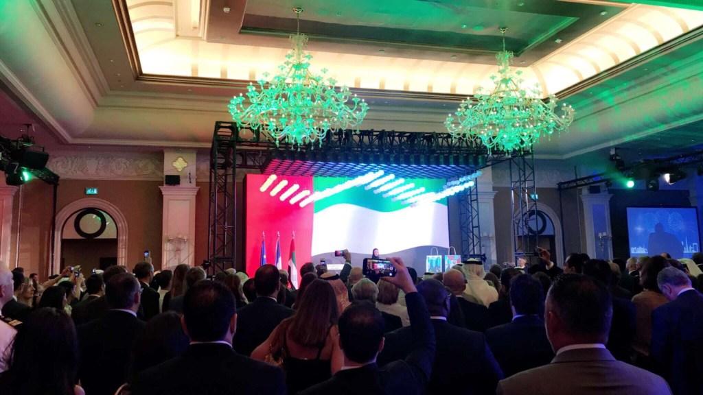 احتفال السفارة الفرنسية في ابوظبي