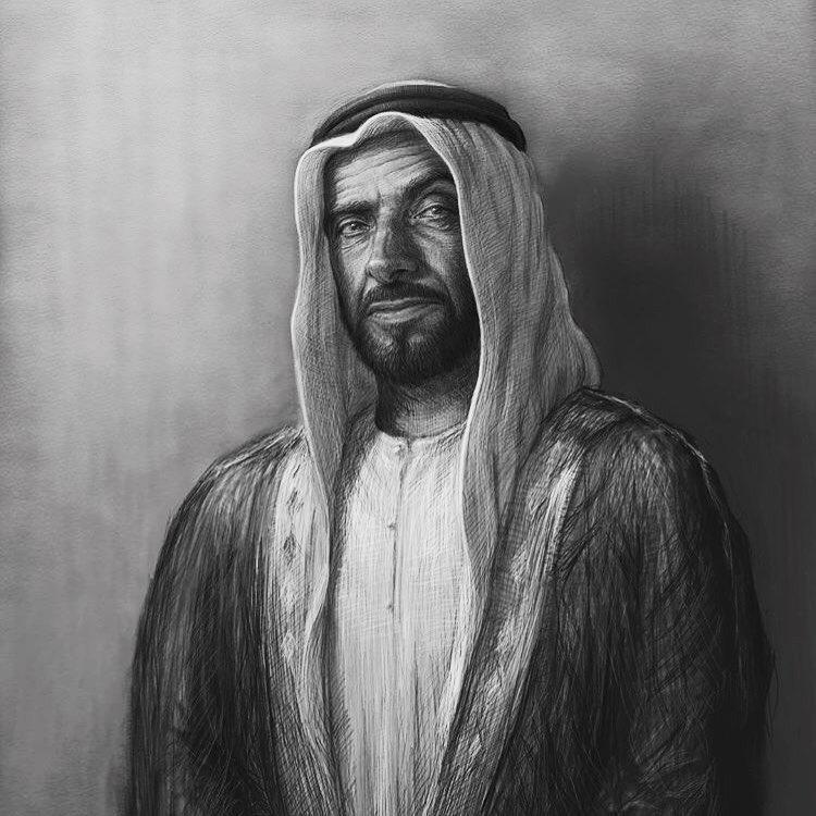 الشيخ زايد بن سلطان رحمه الله