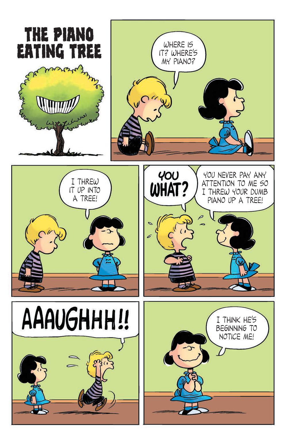 Peanuts 21 Preview The AAUGH Blog