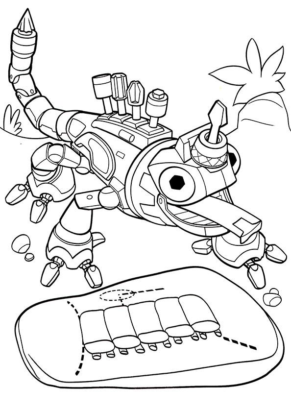 Dinotrux (1) Ausmalbilder kostenlos