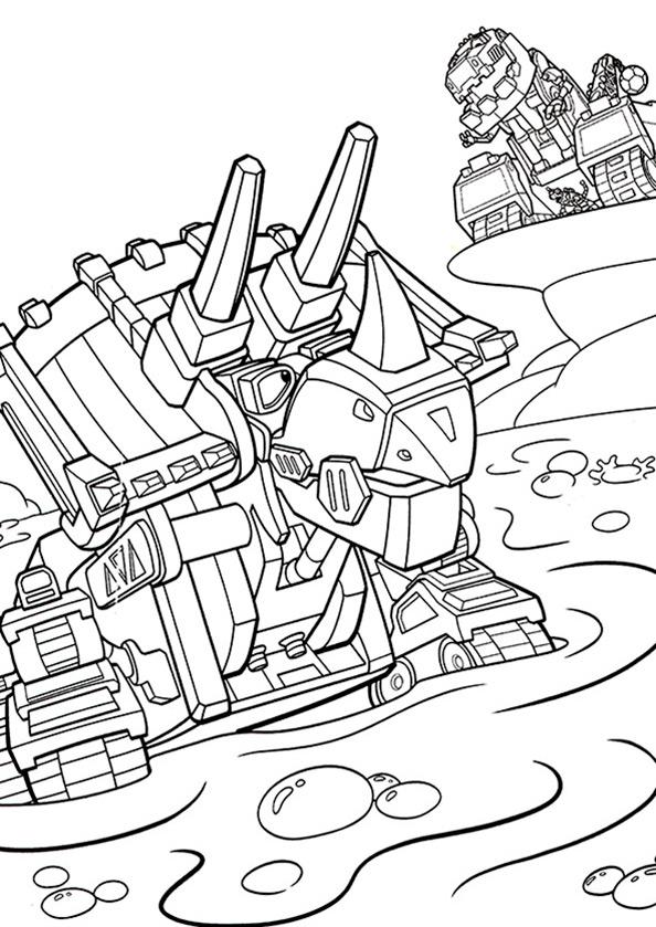 Dinotrux (14) Ausmalbilder kostenlos