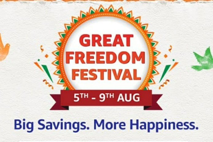 Amazon Great Freedom Festival Sale 2021