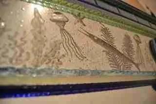 Specchio in vetro di Murano - Dettagli