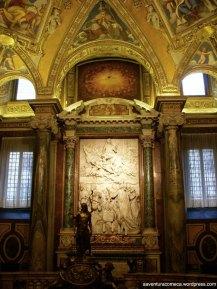 Basilica Santa Maria Maggiore estatua teto pintura