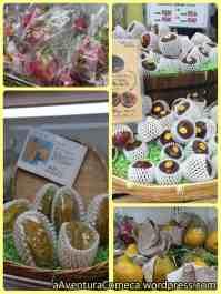 Dragon Fruit, Carambola, Maracujá e Mamão