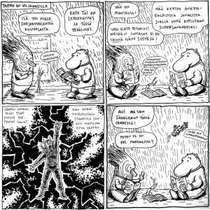 Marraslahti-sarjakuva