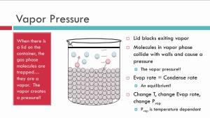 vapour pressure
