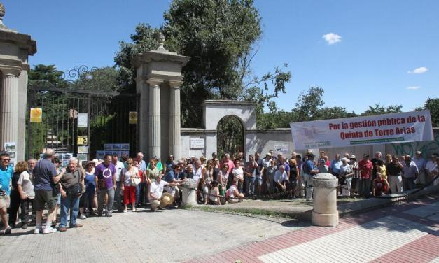 El 28S una nueva concentración defenderá la salvaguarda del patrimonio público de la finca de Torre Arias