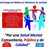 La 49ª Marea Blanca denuncia el deterioro de la salud mental pública