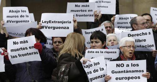 Organizaciones sociales exigen una investigación independiente de la muerte de 14 personas en la costa de Ceuta
