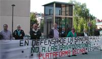 Otras 300 personas se manifiestan el martes en Leganés