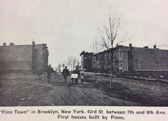Finntown in 1900