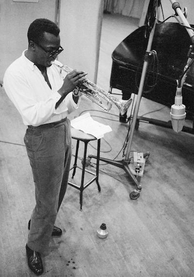 Miles Davis. Photo by